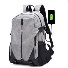 Teen Canvas Men Backpack Cool 2017 <font><b>High</b></font> <font><b>School</b></font> <font><b>Bags</b></font> for Teenage <font><b>Book</b></font> <font><b>Bag</b></font> Boys girls USB Schoolbag Male Backpack Mochila escolar