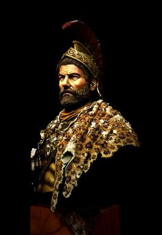 Hannibal Barca Bust by Fabio Naskino Fiorenza · Putty&Paint Ancient Rome, Ancient Art, Hannibal Barca, Punic Wars, Dark Ages, Roman Empire, Art History, Character Inspiration, Old Things