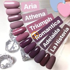 Color mauve All the colors I love on my nails! All the colors I love on my nails! Cute Acrylic Nails, Cute Nails, Pretty Nails, Perfect Nails, Gorgeous Nails, Faux Ongles Gel, Nagellack Design, Nagel Gel, Dream Nails