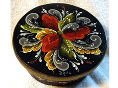 rosemaling designs | Original Norwegian hand painted and traditional Rosemaling artwork ...