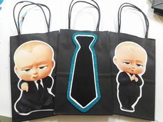 The boss baby candy bags