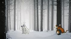 Calvin and Hobbes Photoshopped into Real Life Scenes - My Modern Metropolis