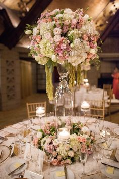 wedding centerpiece idea; photo: Bridgette Marie Photography