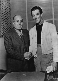 Bob with Louis B. Mayer.