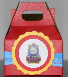 Thomas the Tank Engine Favor boxes