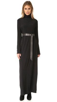 6bc2f990ec41a6 Norma Kamali Макси-платье Kamali Kulture Go с воротником под горло