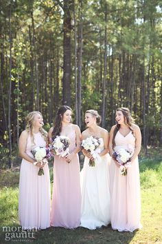 #beautifulblush Venue: Sainte Terre Photography: Morgan Gauntt