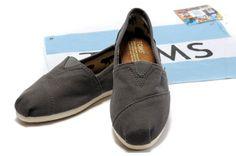 Toms Classic Shoes Canvas Women Grey