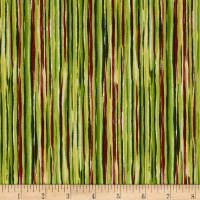 Sophia Watercolor Stripe Green Home Decor Fabric, Stripes Design, Shades Of Green, Accent Decor, Printing On Fabric, Quilts, Watercolor, Pen And Wash, Watercolor Painting