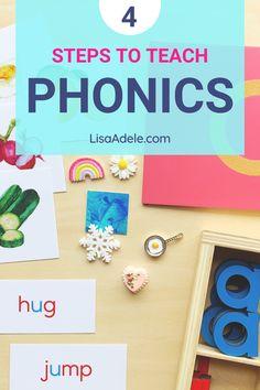 How to Teach Phonics at Home with Montessori - Preschool Kindergarten
