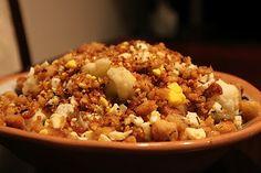 Around The World Restaurant: Polish Cauliflower