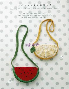 Marvelous Crochet A Shell Stitch Purse Bag Ideas. Wonderful Crochet A Shell Stitch Purse Bag Ideas. Crochet Food, Crochet Crafts, Knit Crochet, Easy Crochet, Crochet Handbags, Crochet Purses, Crochet For Beginners, Crochet For Kids, Purse Patterns