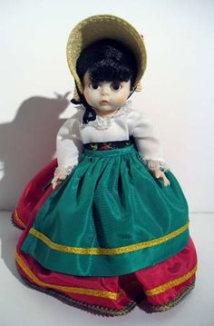 I have this old Madame Alexander doll (Italy)