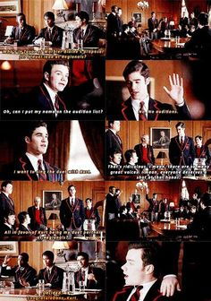 Sneaky Blaine - angling for time with Kurt! ❤❤❤