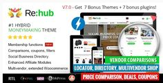 The Best Selling Affiliate Marketing Wordpress Theme  | @HotWebHits
