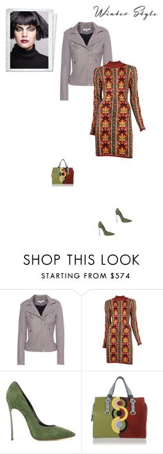 """""""Unbenannt #6888"""" by pretty-girl-in-fashion ❤ liked on Polyvore featuring IRO, Alaïa, Casadei, Dsquared2, alaia, dsquared2 and winterstyle"""