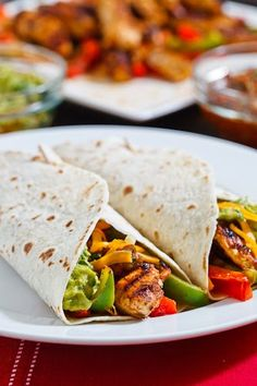 Chicken Fajitas: made these for dinner last night, cooked them in the fry pan.  So good, even better today for lunch!