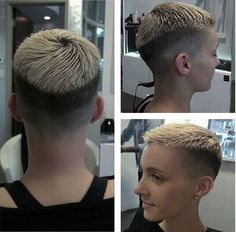 Very Short Haircut for Summer