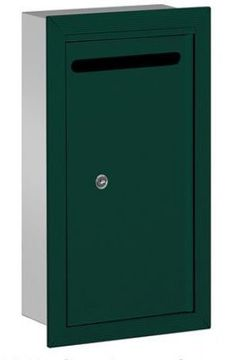 Letter Box (Includes Commercial Lock) - Slim - Recessed Mounted - Green - Private Access by Salsbury Industries. $91.75. Letter Box (Includes Commercial Lock) - Slim - Recessed Mounted - Green - Private Access - Salsbury Industries - 820996105844. Save 26% Off!