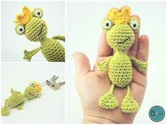 Du magst Frösche und brauchst einen neuen Schlüsselanhänger? Dann lad Dir gleich die Anleitung runter ++ häkle Dir Deinen eigenen Froschkönig. Viel Spaß.
