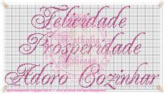 Apaixonada por Ponto Cruz