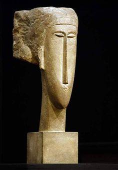 "Amedeo Modigliani ""Head"""