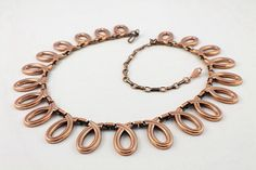 copper necklace renoir matisse