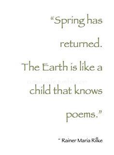 ♡ I smell Spring ♡ – Primavera Rilke Quotes, Me Quotes, Book Quotes, Magnolia, Eternal Return, Hello March, December, Spring Quotes, Rainer Maria Rilke