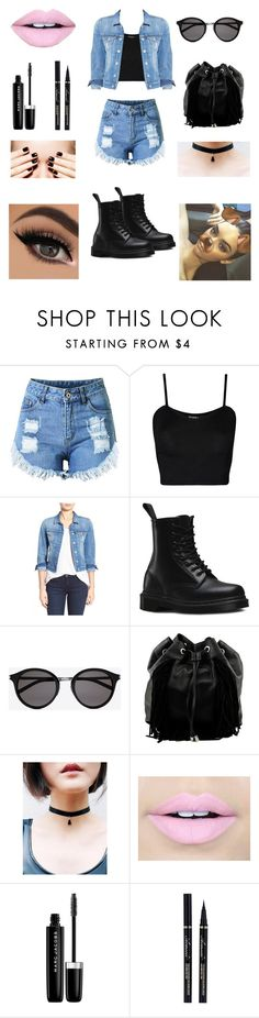 """""""style!"""" by ulyte0308 on Polyvore featuring WearAll, Mavi, Dr. Martens, Yves Saint Laurent, Steve Madden, Fiebiger and Marc Jacobs"""
