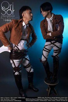 You don't scare me. - Delusor(Damien) Levi, Ken chutaicho(Ken chutaicho 「中隊長」) Nile Dok Cosplay Photo - Cure WorldCosplay
