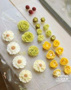 [베러케이크 정규클래스 후기] 블라썸 blossom 버터크림플라워케익 - 공덕마포케이크/베이킹클래스 : 네이버 블로그
