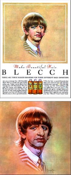 FRANK FRAZETTA - Blecch Shampoo - 1964 back cover Mad Magazine #90 - cover by drewfriedman.blogspot.com - print by Google