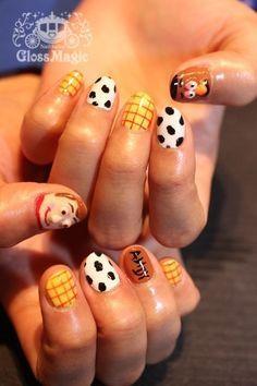 nail art toy story - Pesquisa Google