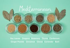 guide to spices: Mediterranean