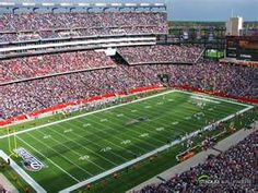 Gillette Stadium...home of the New England Patriots