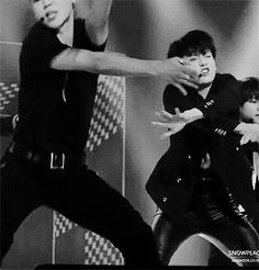BTS gif Jimin and Jungkook #dancing