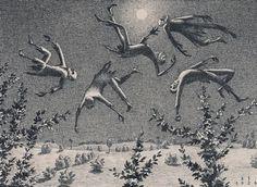 Franz Sedlacek: Gespenst am Nachthimmel