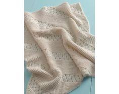 Treasured Heirloom Baby Blanket Pattern (Knit)