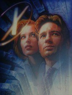 X-Files by Drew Struzan