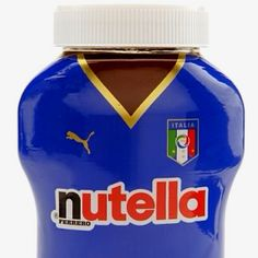 looks like #balotelli to me :p  Nutella! And Italian soccer