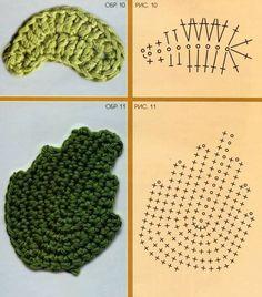 Rubrics, Crochet Flowers, Kids Rugs, Iris, Leaves, Irish Crochet, Chrochet, Needlepoint, Sewing