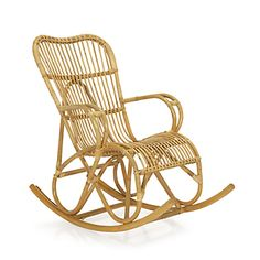 Rattan euro and rocking chairs on pinterest - Rocking chair alinea ...