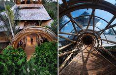 Elora Hardy | Ibuku bamboo treehouse in Bali Indonesia.