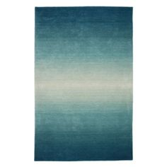Ombre Rugs - Aquamarine from Z Gallerie