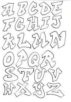 Resultado de imagem para graffiti letters