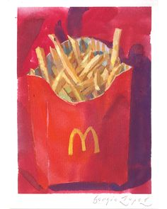 Paintings of California, sensual nudes and beautiful charcoal drawings all are hallmarks of the fine art of Sergio Lopez. Based out of Santa Rosa, California. Mcdonalds Fries, Drip Painting, Charcoal Drawing, Gouache, Watercolor Paper, At Least, My Arts, Sign, Fine Art