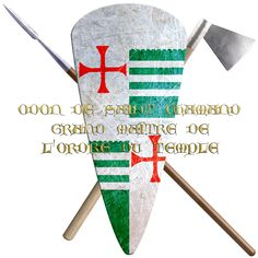 Odon de Saint Amand (Chamans).  8th Grand Master of the Knights Templar, 1171 and 1179. Led military actions in Naplouse, Jericho and Djerach including his most famous victory at battle of Montgisard, won against considerable odds.