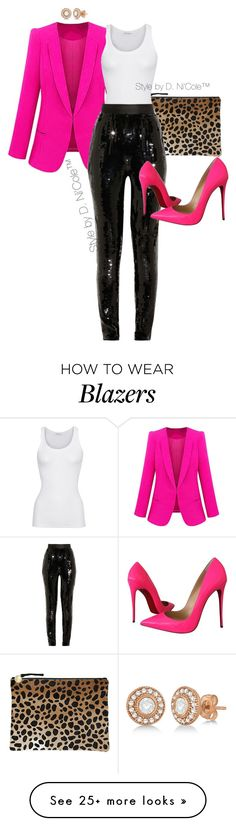 """Untitled #3228"" by stylebydnicole on Polyvore featuring Clare V., American Vintage, Jason Wu, Christian Louboutin and Allurez"