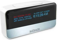 Donation Alarm Clock