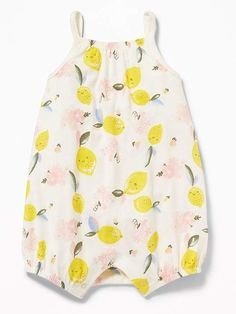 d5927d0c41b Old Navy Printed Jersey Bubble One-Piece for Baby  babygirl